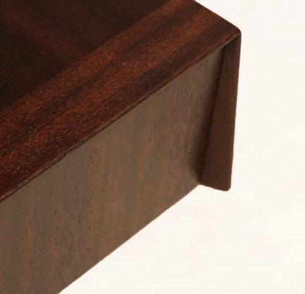 Brown-Saltman mahogany side tables (2) - 5