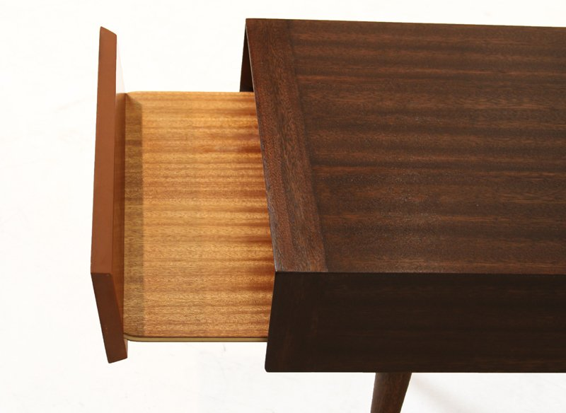 Brown-Saltman mahogany side tables (2) - 6