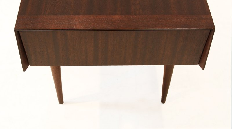 Brown-Saltman mahogany side tables (2) - 7