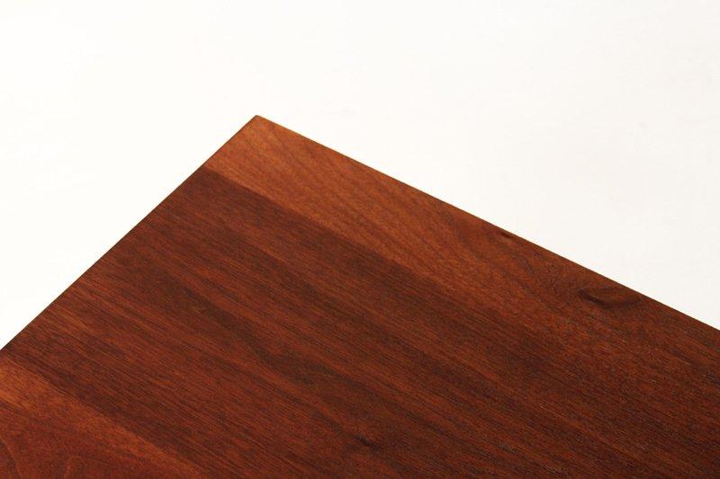 Milo Baughman wooden petite cabinet - 5