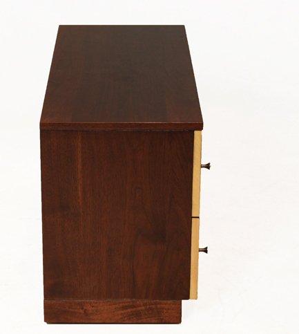 Milo Baughman wooden petite cabinet - 6