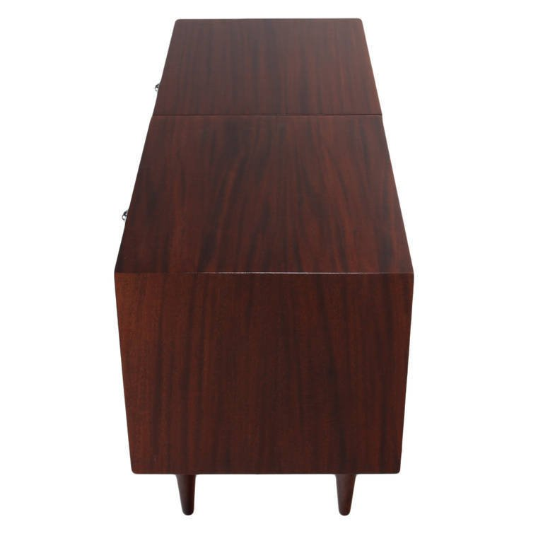 Harvey Probber walnut nightstands (2) - 4