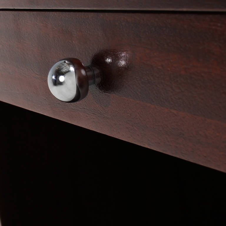 Harvey Probber walnut nightstands (2) - 8