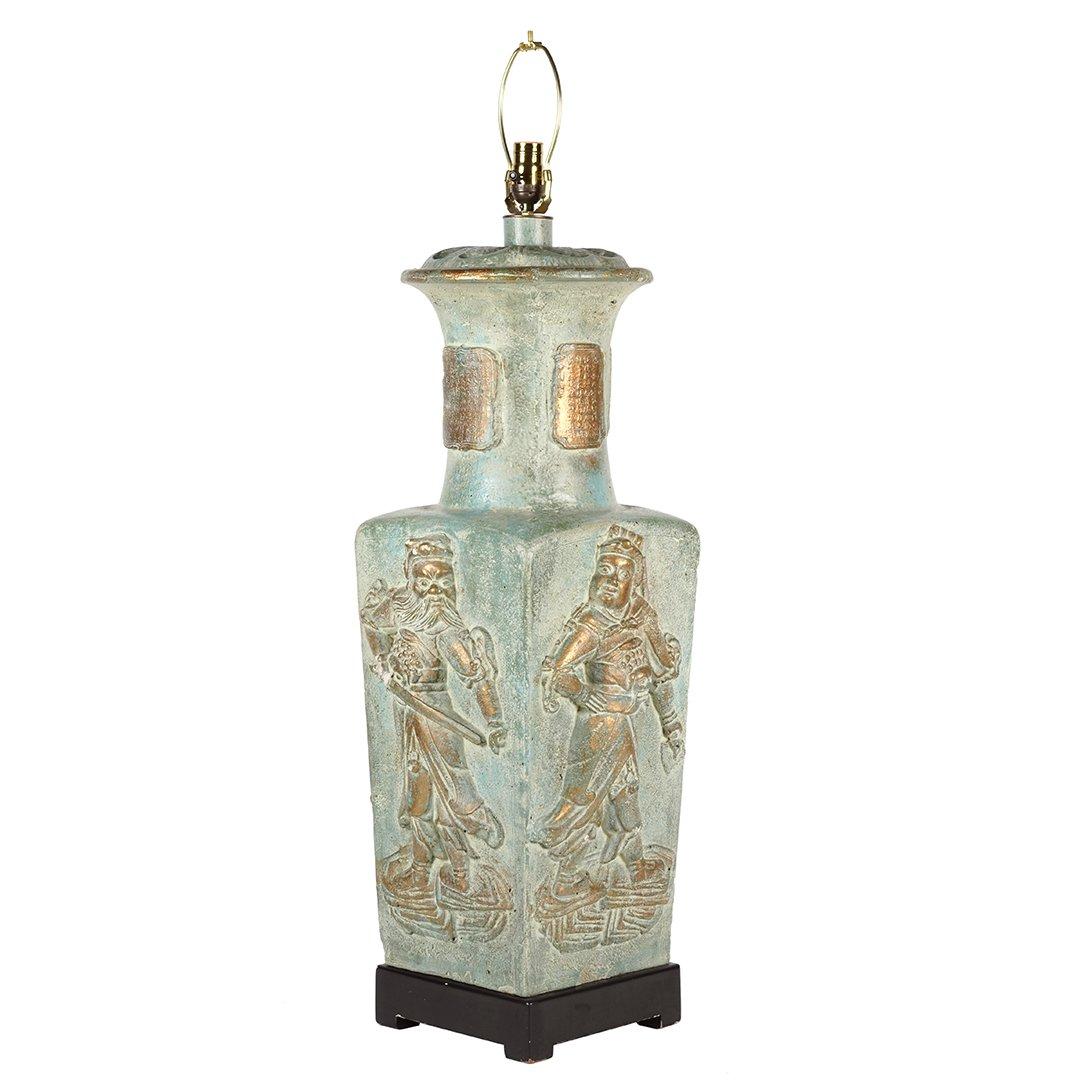 Monumental ceramic lamp - 2