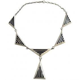 Jack Nutting sterling silver necklace
