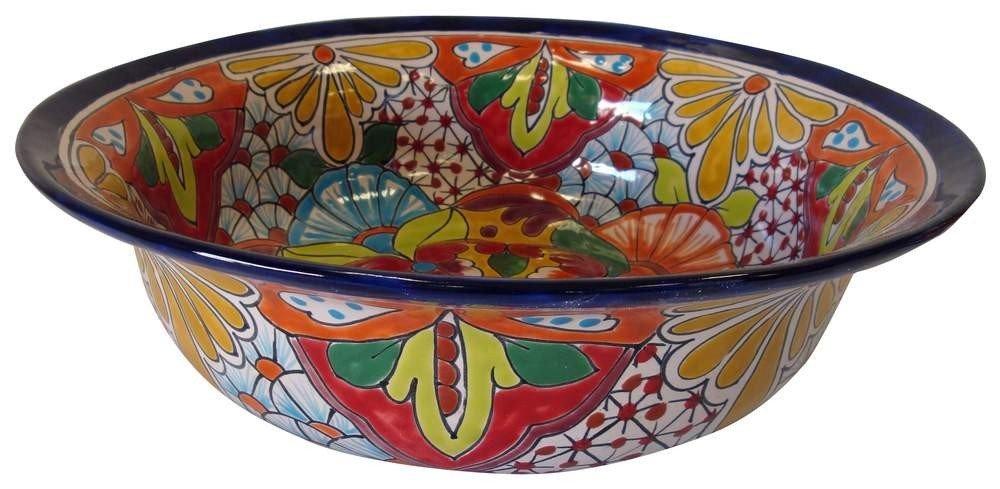 Native Mexican Washing Bowl