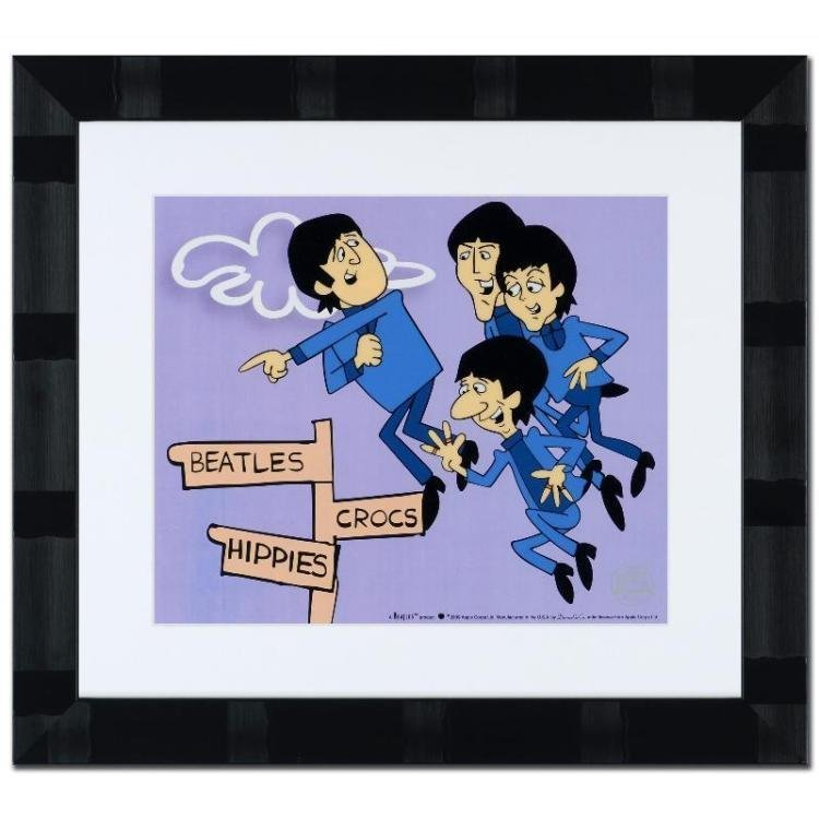 """Beatles """"In Air""""  Sericel Limited Edition"""