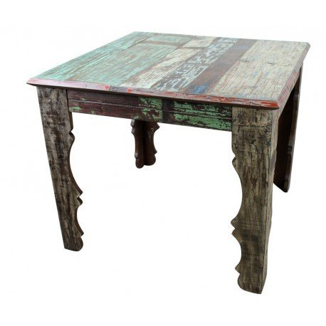 Native Mexican Reclaimed Wood Dining Table