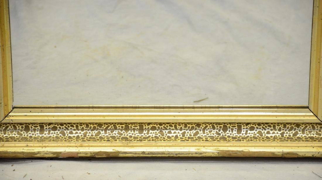 "Gilt framed Victorian wall mirror, 28"" x 22"" - 2"