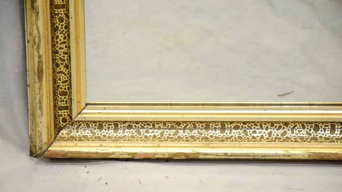 "Gilt framed Victorian wall mirror, 28"" x 22"" - 3"