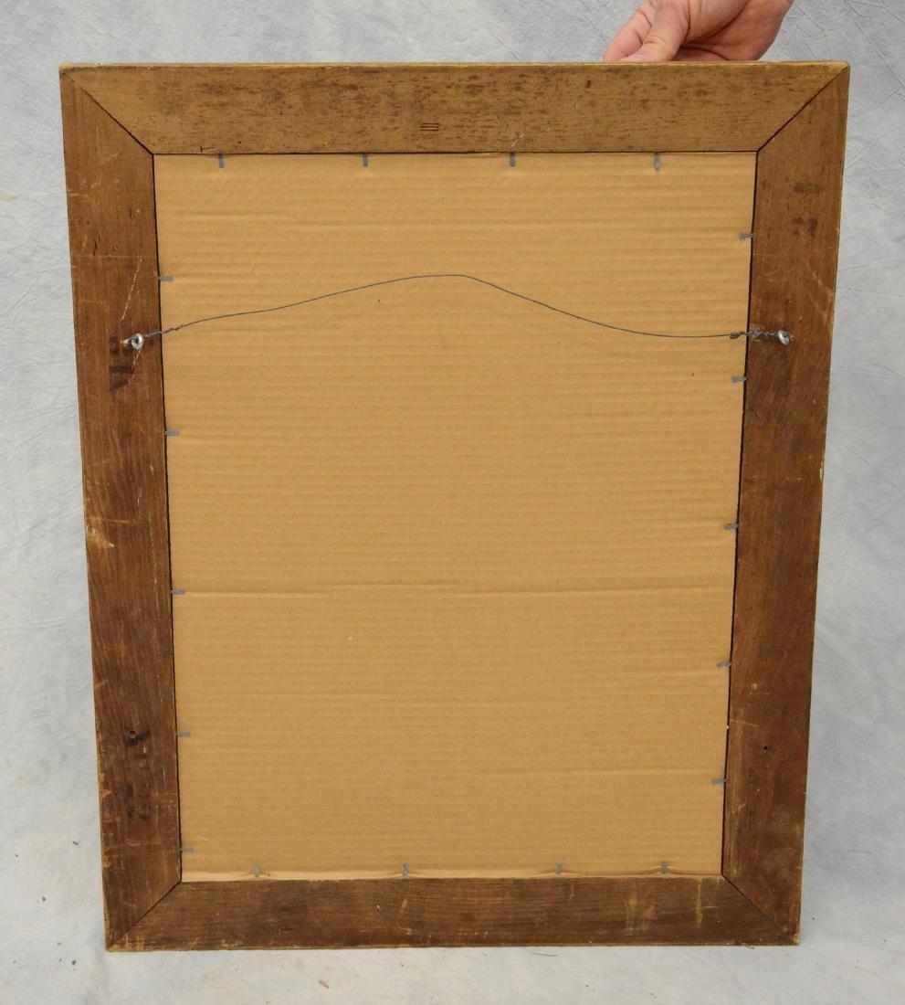 "Gilt framed Victorian wall mirror, 28"" x 22"" - 4"