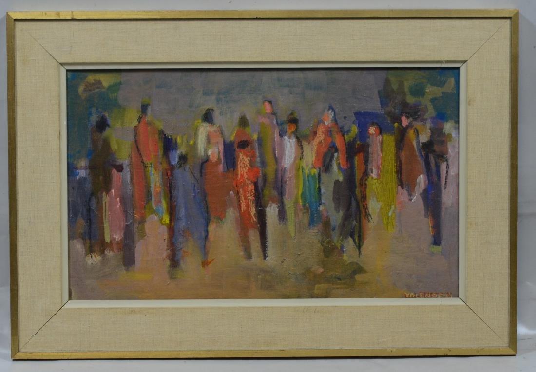 """Alice Valenstein, American, 1904-2002, 12"""" x 20"""", - 2"""