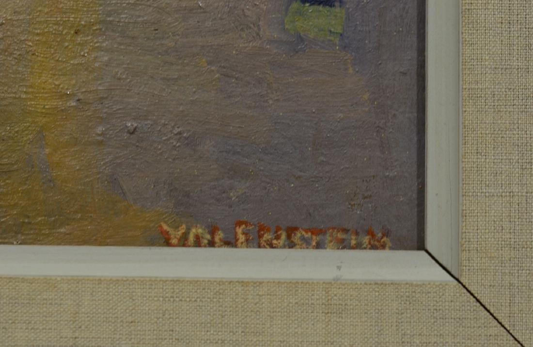 """Alice Valenstein, American, 1904-2002, 12"""" x 20"""", - 3"""