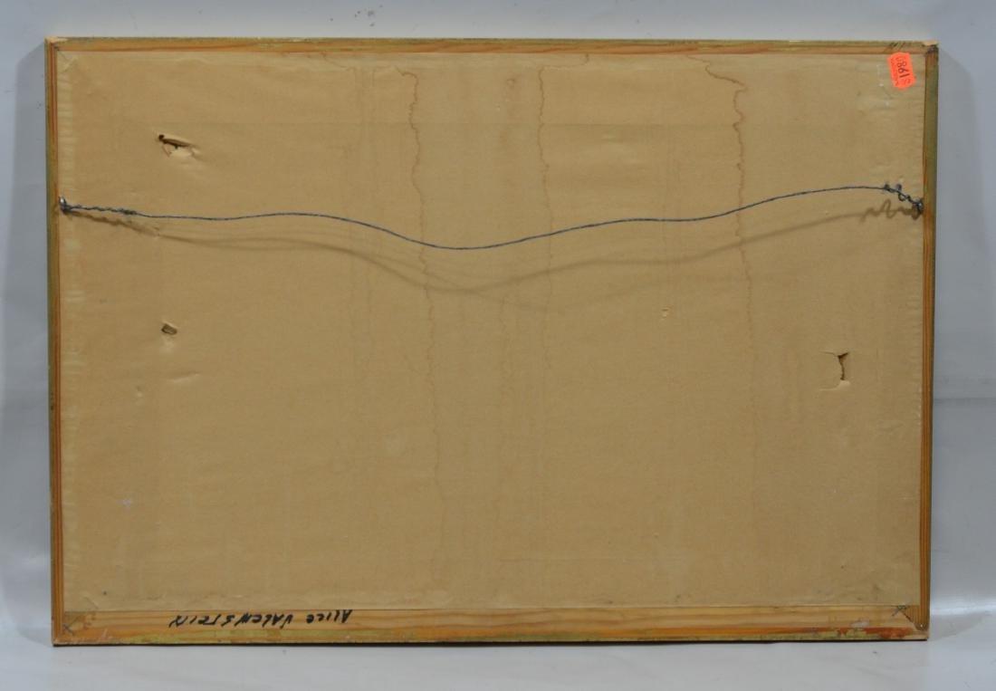 """Alice Valenstein, American, 1904-2002, 12"""" x 20"""", - 4"""