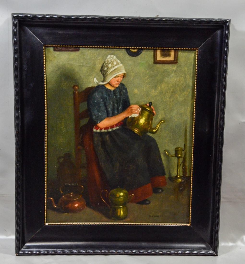 Wilhelm Gdanietz, German, 1893-1962, Lady seated - 2