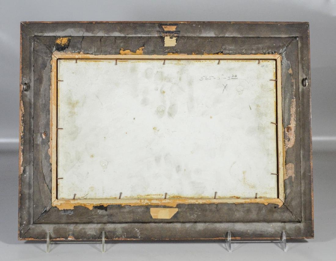 Rookwood Vellum Plaque, decorated by Fred Rothenbusch, - 4
