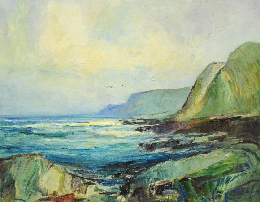 Anton H Dahl (Swedish American, 1894 - 1967), Oil on