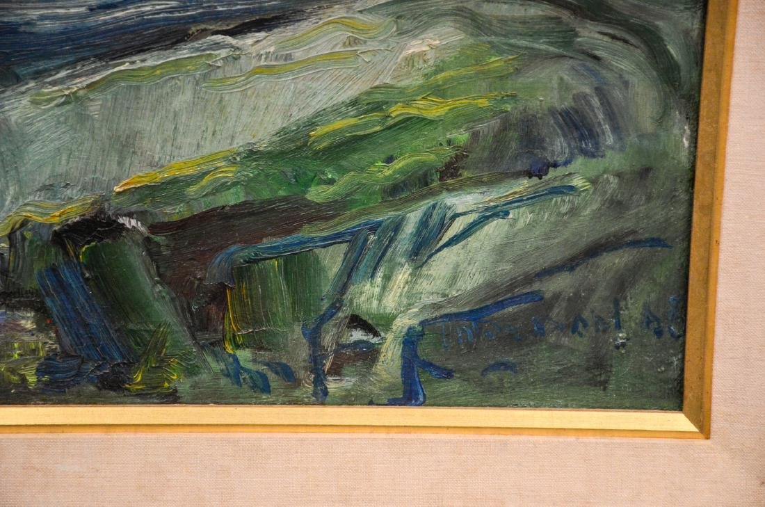 Anton H Dahl (Swedish American, 1894 - 1967), Oil on - 3