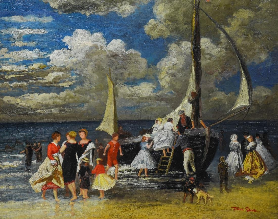 After Renoir, Reproduction Oil Painting on Canvas,