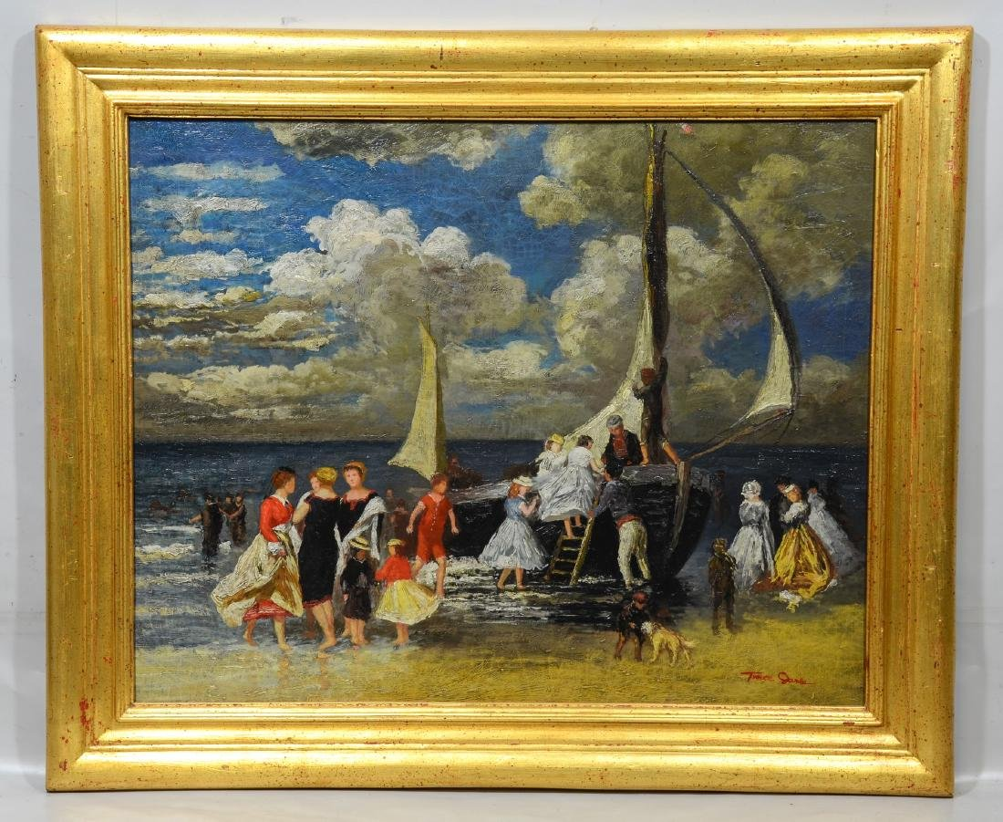 After Renoir, Reproduction Oil Painting on Canvas, - 2