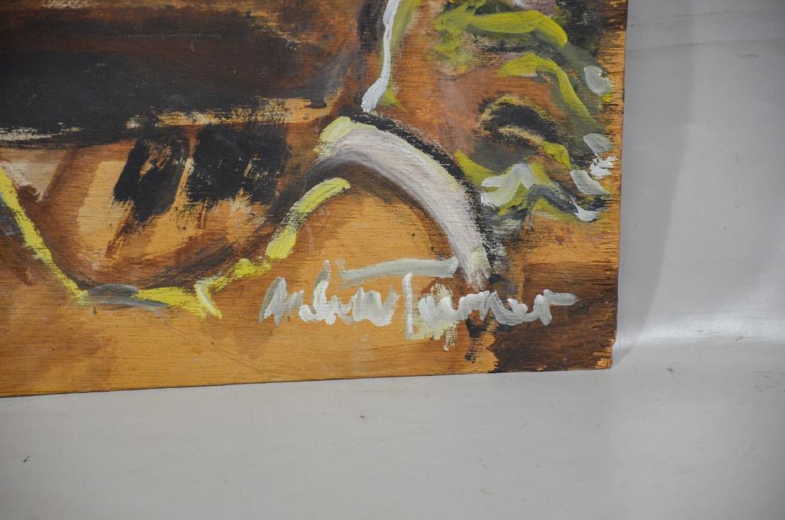 Andrew Turner, American, 194-2001, oil on luan panel, - 2