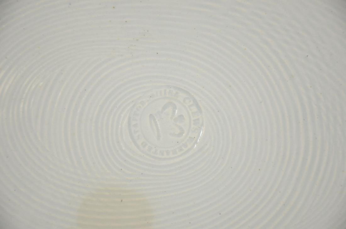 Clews Historical Black Transfer Decorated Platter, - 4