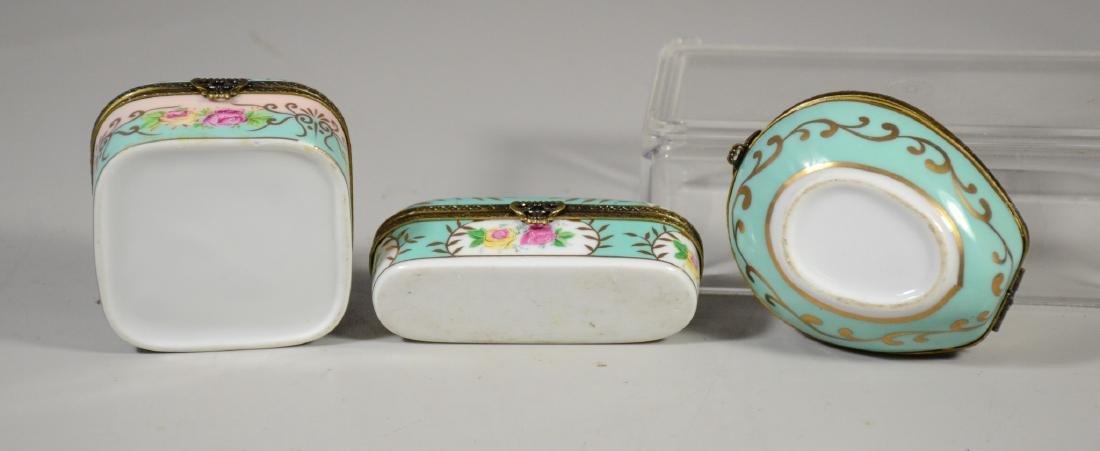 3 Continental floral decorated decorative porcelain - 3