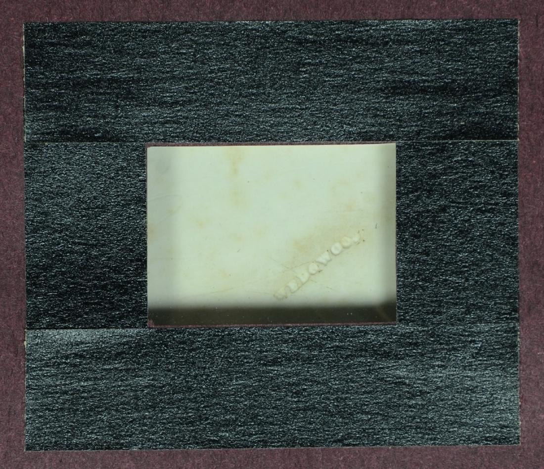 (2) Wedgwood green & white Jasper framed plaques, - 4