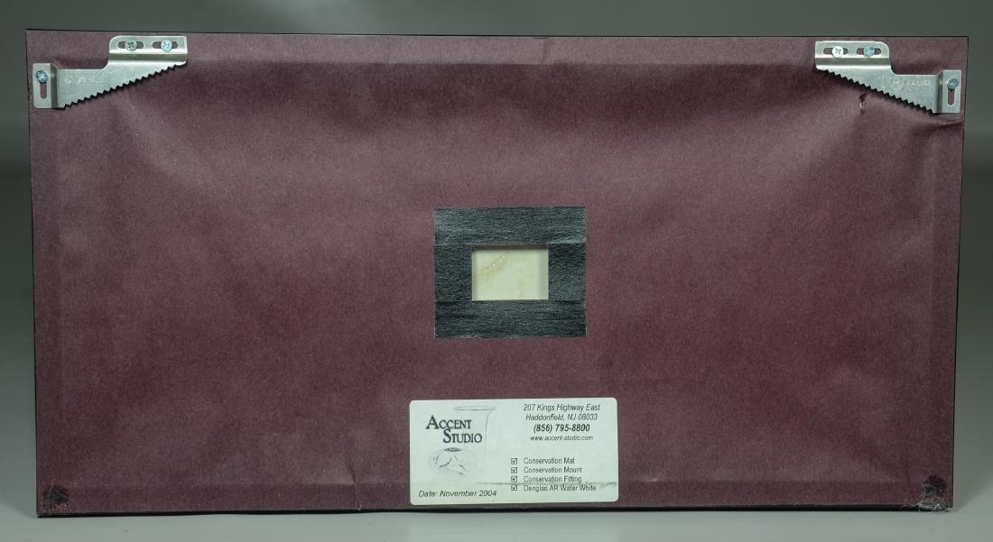 (2) Wedgwood green & white Jasper framed plaques, - 5