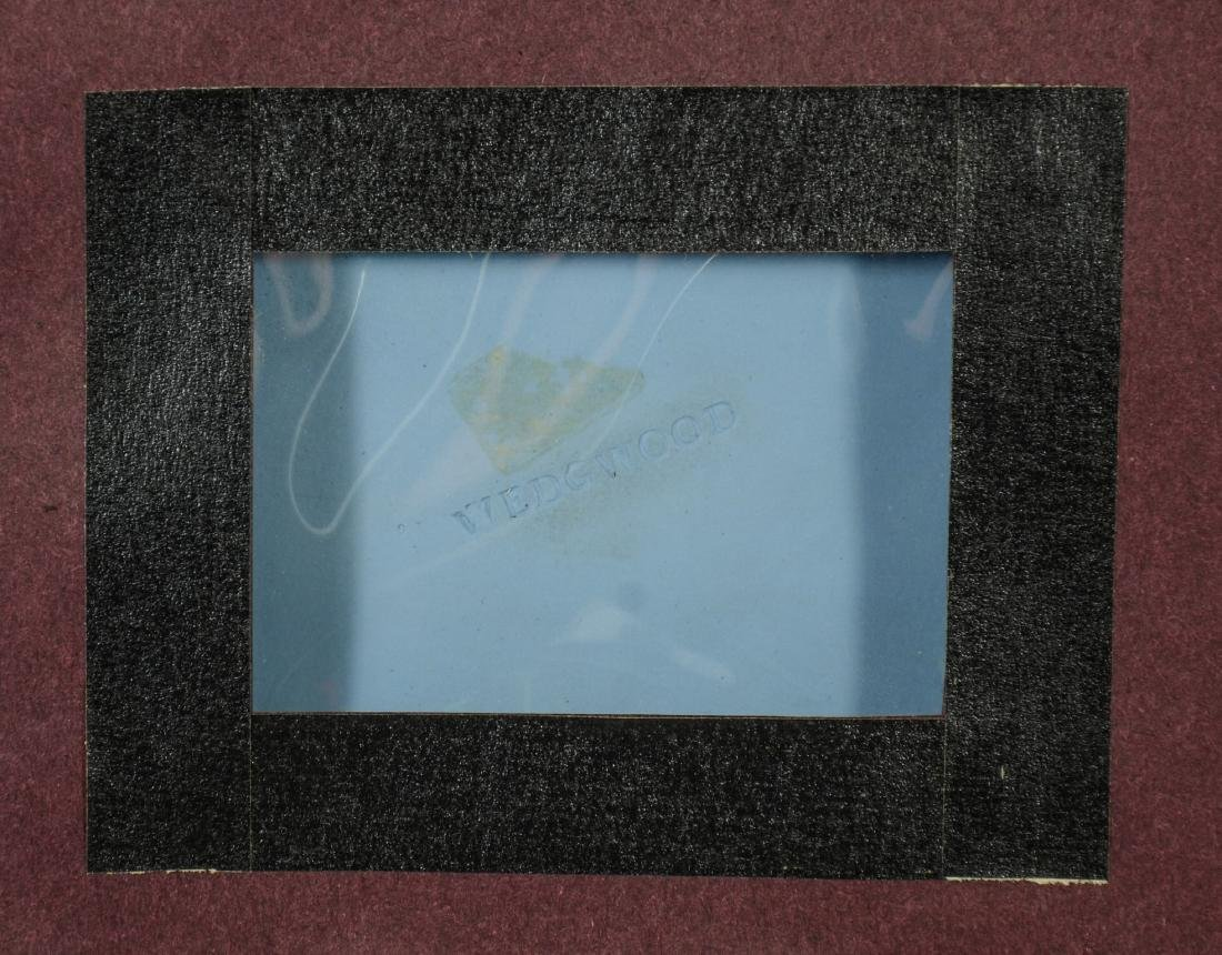 Large Wedgwood light blue & white Jasper plaque - 4