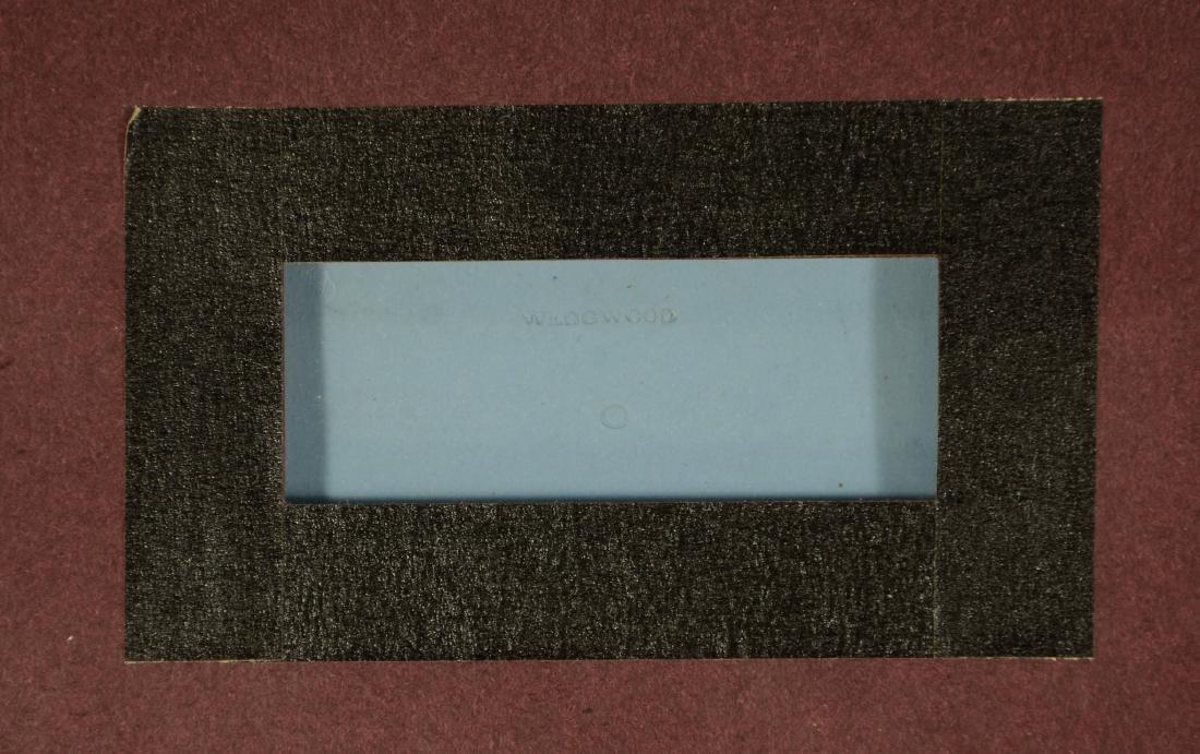 Pair of Wedgwood framed light blue & white Jasper - 5