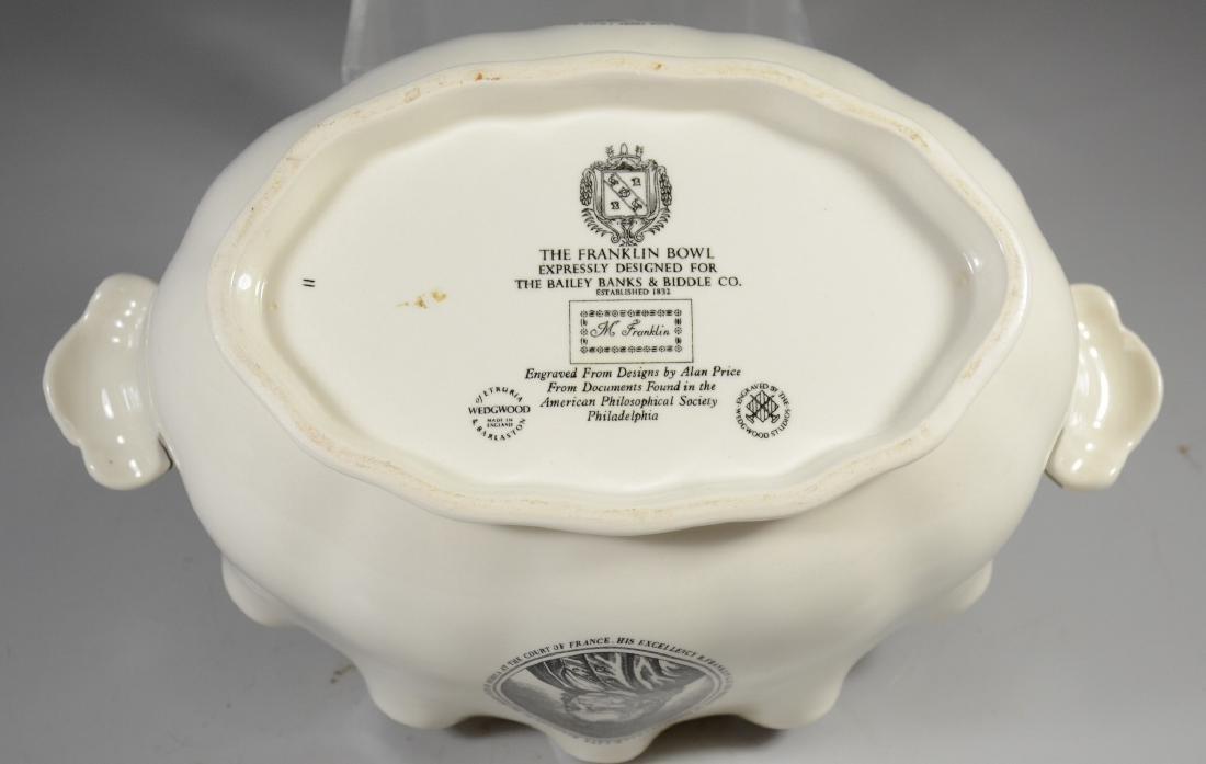 (2) Pieces Wedgwood creamware, Philadelphia Bowl & - 10