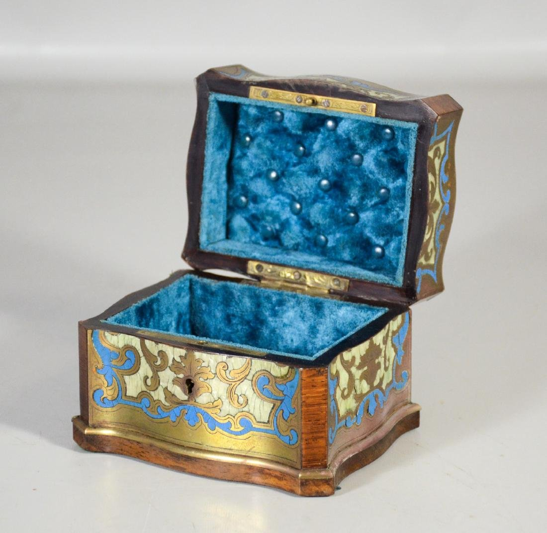 Two (2) Boulle to include a glove box with small areas - 5