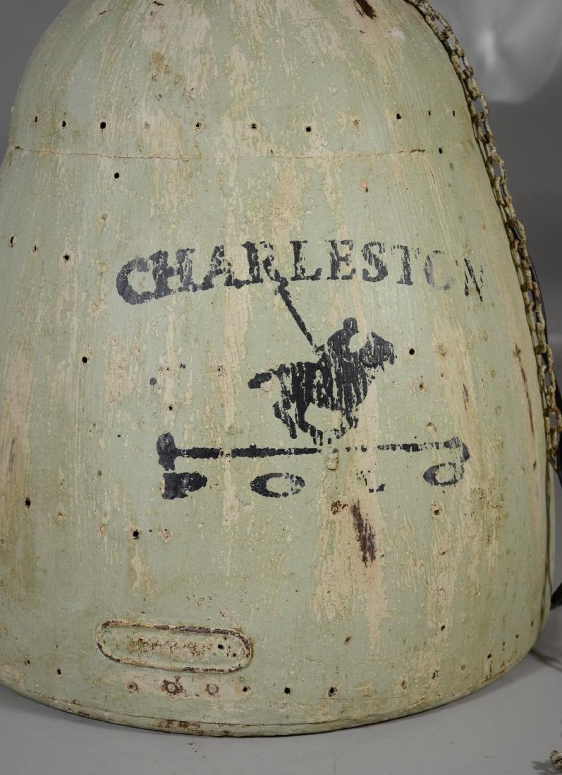 "Charleston Polo light fixture, 21"" h, 17"" - 2"