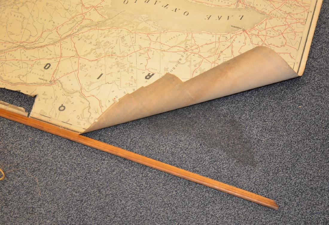 Philadelphia Area ephemera lot including railroad maps - 5