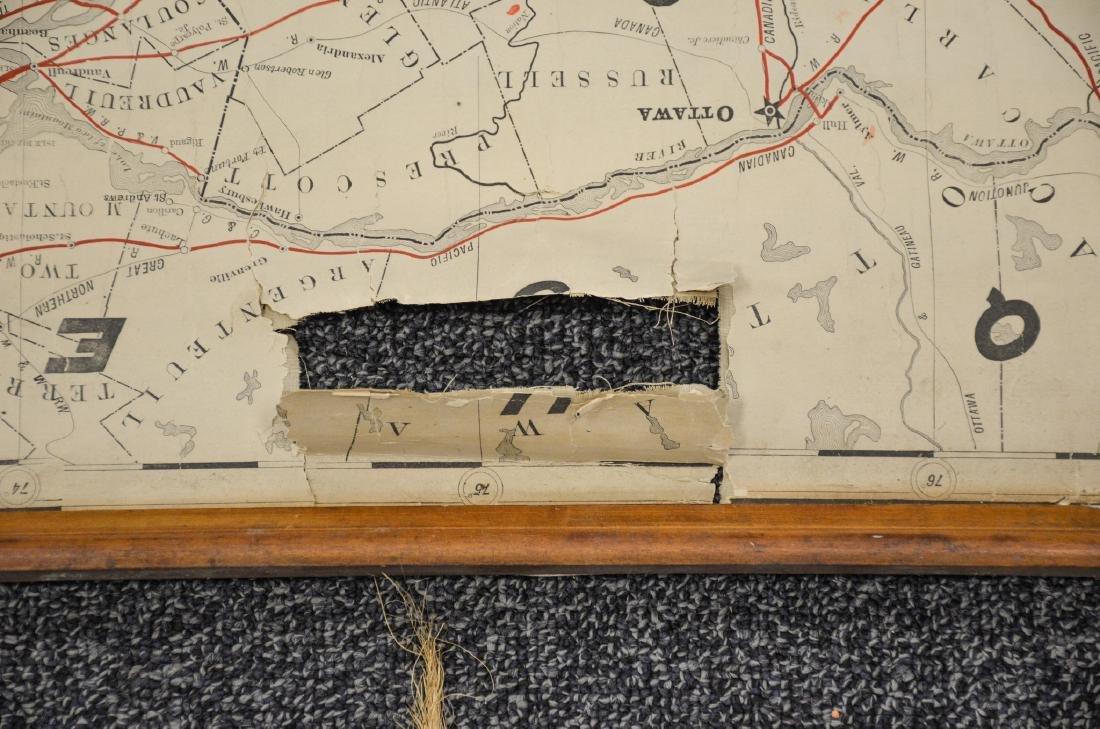 Philadelphia Area ephemera lot including railroad maps - 6