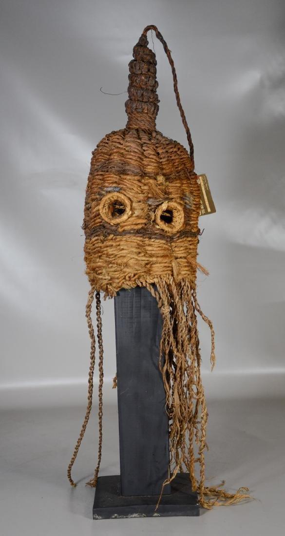 African primitive tribal helmet mask, Nairobi Kenya