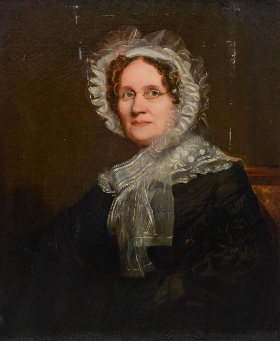 Robert Frain, (Scottish, 1811-?), 19th c Portrait