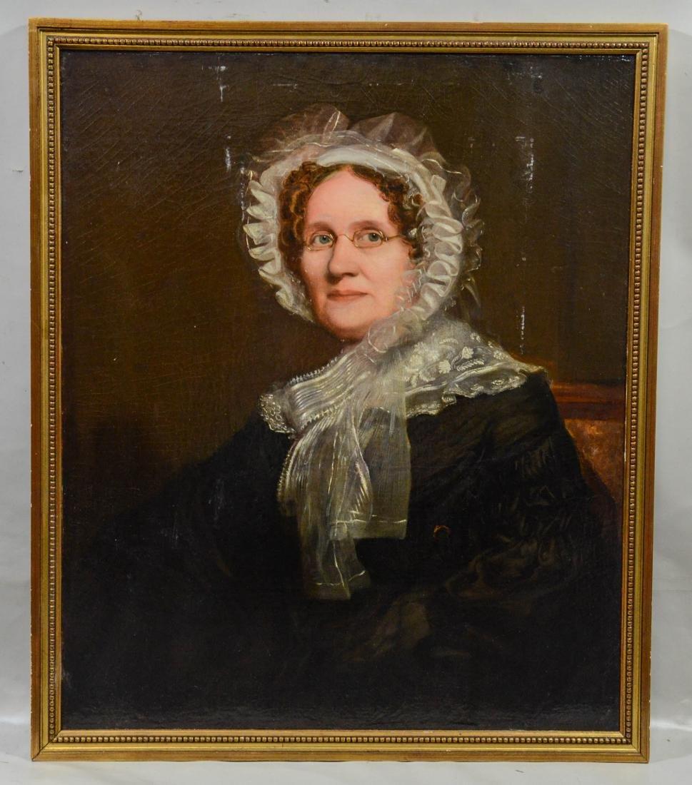 Robert Frain, (Scottish, 1811-?), 19th c Portrait - 2