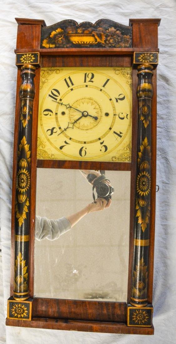 Jeromes' & Darrow, Bristol mahogany stenciled column