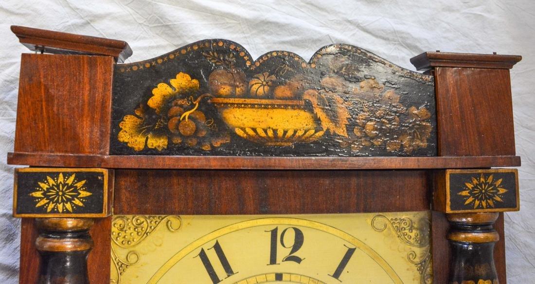 Jeromes' & Darrow, Bristol mahogany stenciled column - 3