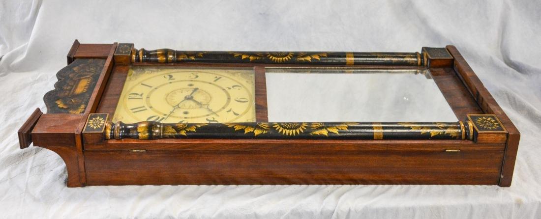 Jeromes' & Darrow, Bristol mahogany stenciled column - 4
