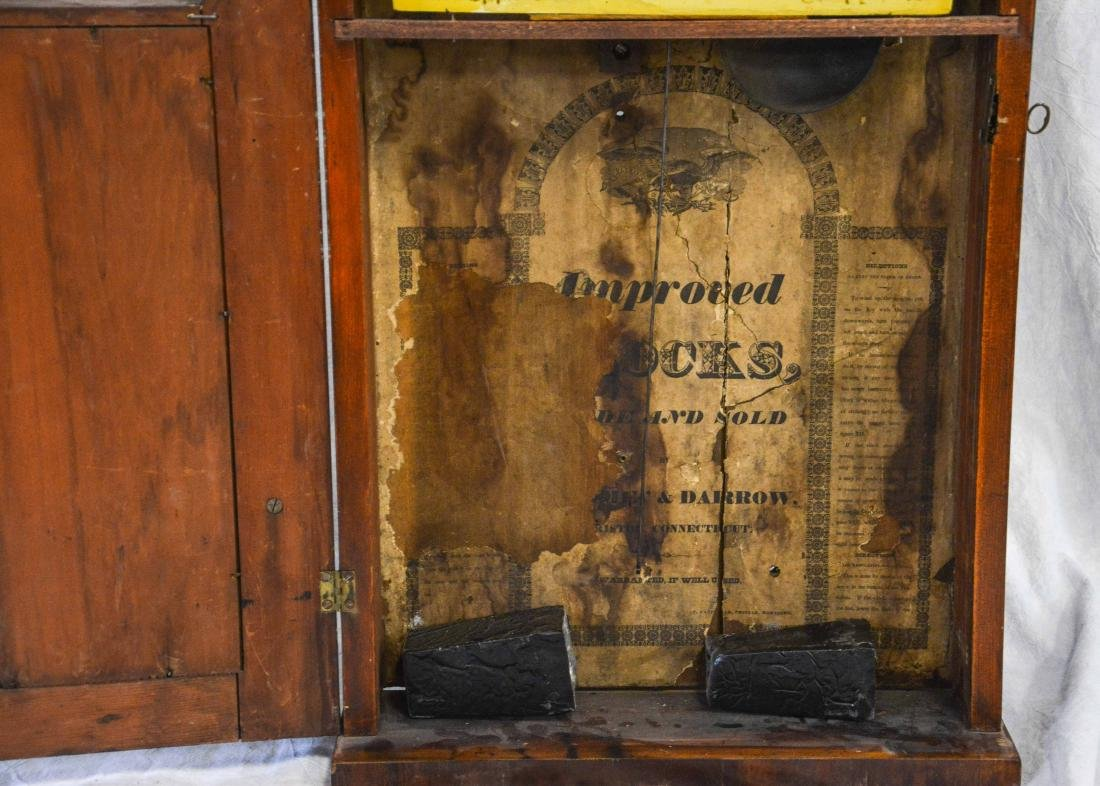 Jeromes' & Darrow, Bristol mahogany stenciled column - 7