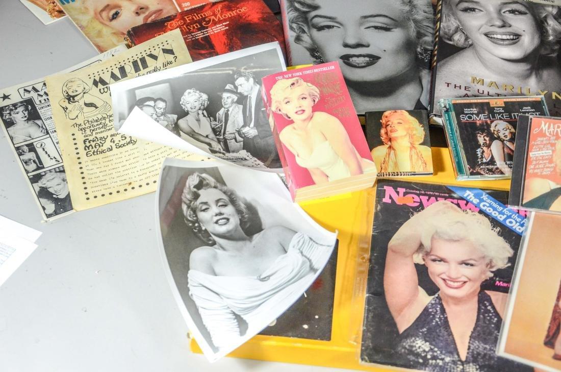 Marilyn Monroe memorabilia lot, including 2 DVDs, 6 - 2