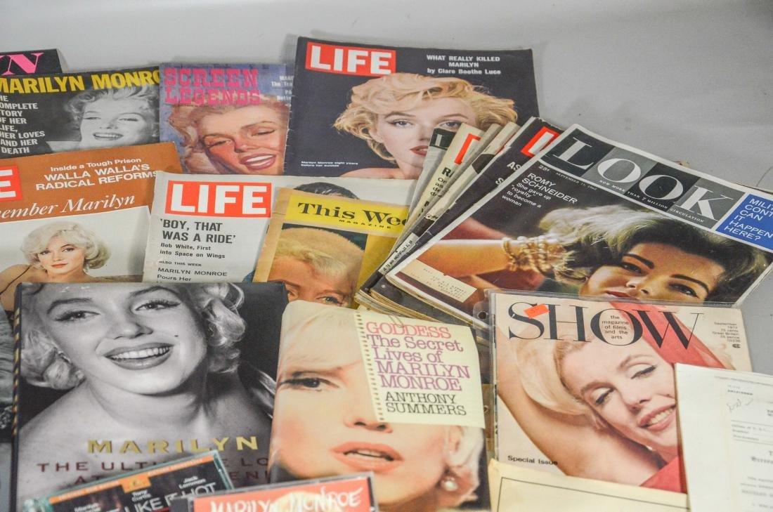 Marilyn Monroe memorabilia lot, including 2 DVDs, 6 - 5