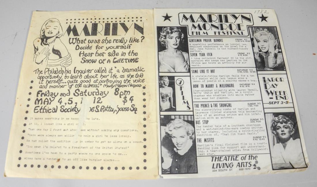 Marilyn Monroe memorabilia lot, including 2 DVDs, 6 - 9
