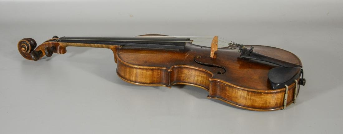 After Amati violin, spruce top, 2 pc figured maple - 3