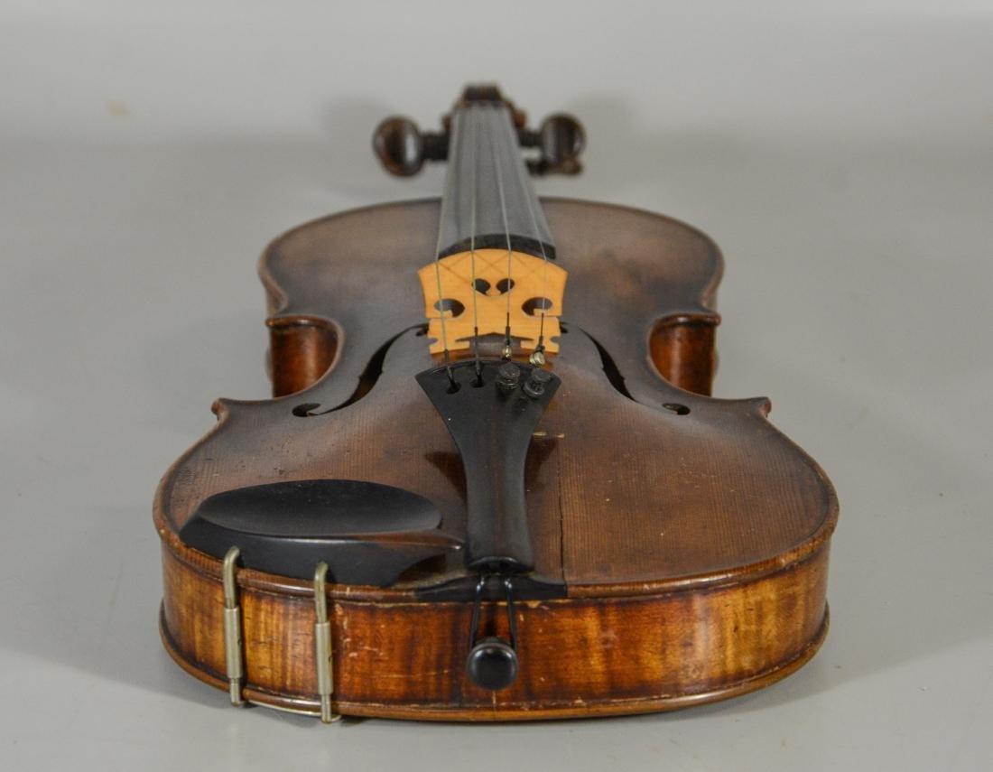 After Amati violin, spruce top, 2 pc figured maple - 4
