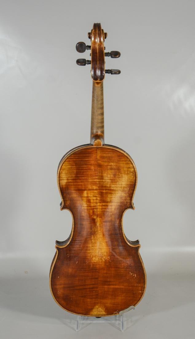 After Amati violin, spruce top, 2 pc figured maple - 5