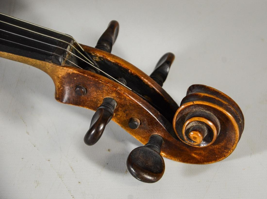 After Amati violin, spruce top, 2 pc figured maple - 6